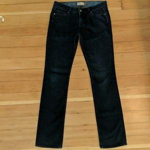 Paige Premium Denim Low Rise Skinny Jeans
